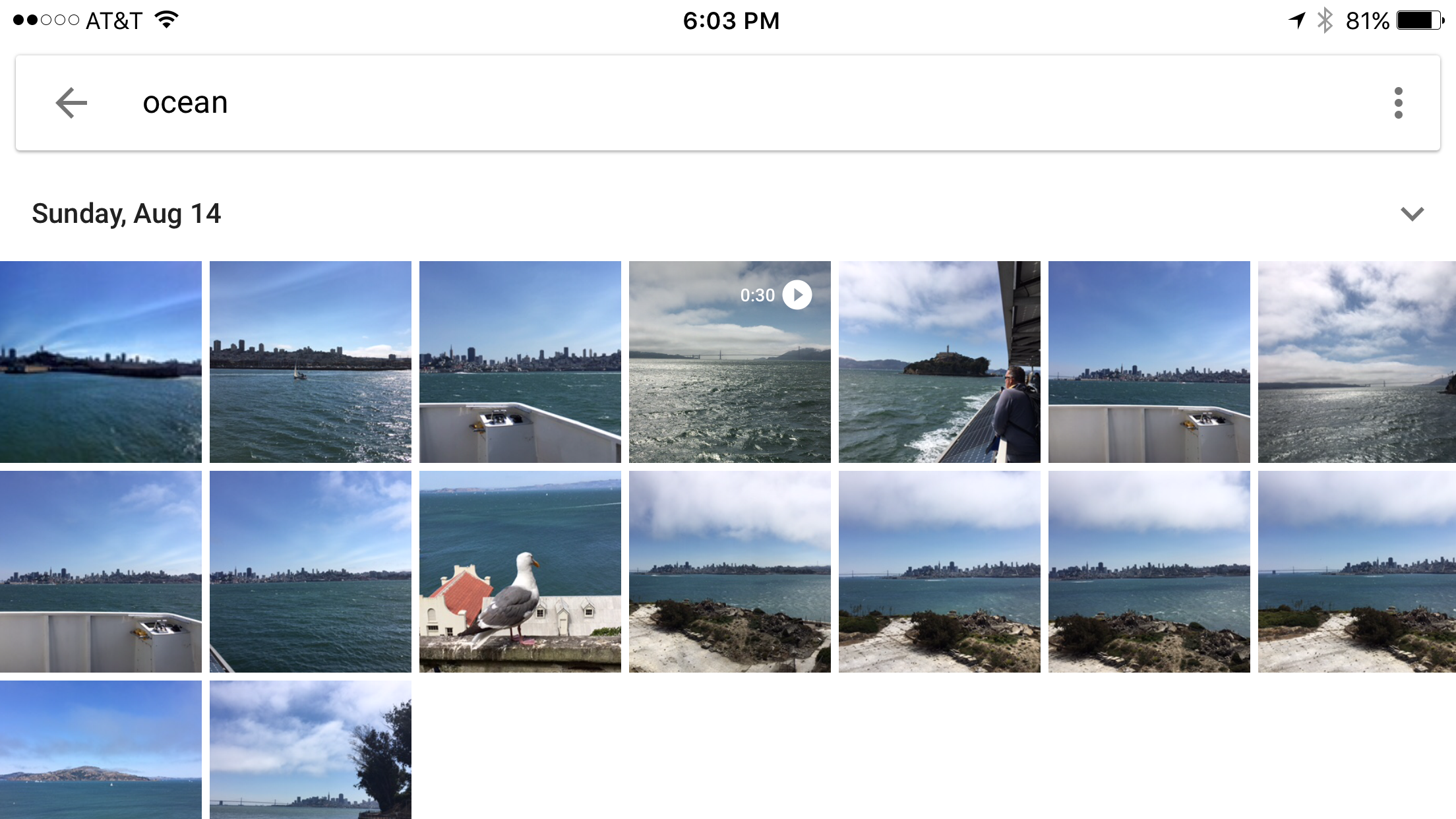 Search in Google Photos
